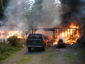 Gillespie fire