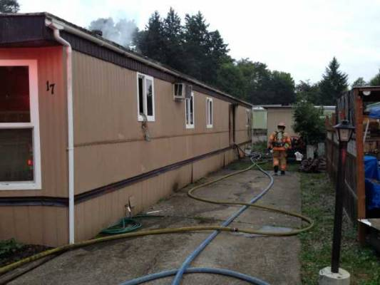 Early Morning House Fire in Creswell