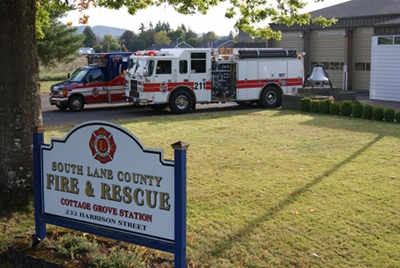 Station 1, South Lance County Fire and Rescue